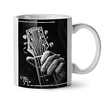 Guitar Solo Song Music NEW White Tea Coffee Ceramic Mug 11 oz | Wellcoda