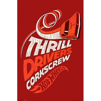 Hot Wheels - Thrill Drivers Poster Print