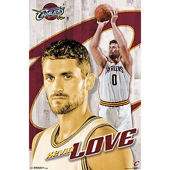 Cleveland Cavaliers - Kevin Love 16 Poster Print