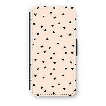 iPhone 6/6S Plus Flip Case - lille katte