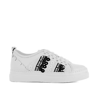 Msgm women's 2441MDS18002 White leather of sneakers