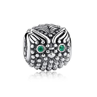 OWL in 925 Silver Bead charms