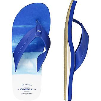 ONeill Imprint Pattern Flip Flops