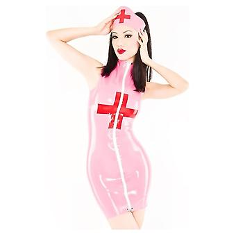 Westward Bound Nurse Medic Latex Rubber Uniform Dress