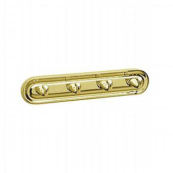 Villa Brass Hook Quadruple V259