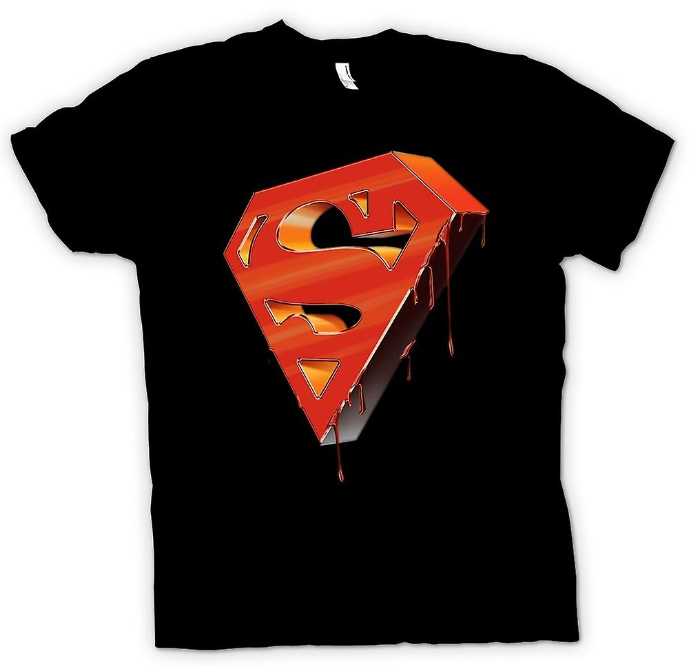 Womens T-shirt - 3D Superman Logo