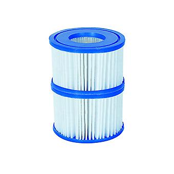 Filter Cartridge VI for Lay-Z-Spa Miami, Vegas, Monaco 72x Twin Pack