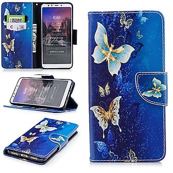 Pocket wallet motif 38 for Xiaomi Redmi 5 plus protection sleeve case cover pouch new