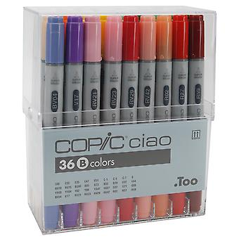 Copic Ciao Markers 36pc Set-Set B
