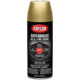 Supermaxx Paint 12Oz-Gold Metallic