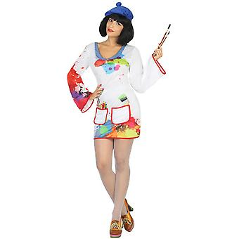 Women costumes  painter ladies costume
