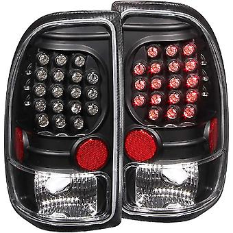 Anzo USA 311101 Dodge Dakota Black LED Tail Light Assembly - (Sold in Pairs)