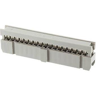 ECON connecter espacement des broches Connecteur Contact: 2,54 mm nombre de broches: 6 No de lignes: 2 1 PC (s) plateau