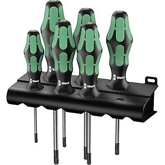 Workshop Screwdriver set 6-piece Wera 367/6 TORX® HF TORX socket