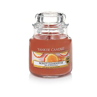 Yankee Candle Small Jar Clementine Classic Honey Candle 104 g