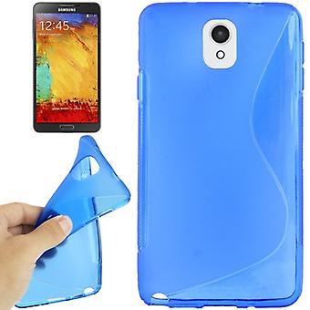 Handyhülle TPU-Schutzhülle für Samsung Galaxy Note 3 blau