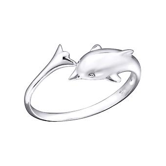 Dolphin - 925 Sterling Silver Toe Rings - W21056X