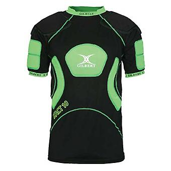 GILBERT xact 10 V2 shoulder pads [black/green]