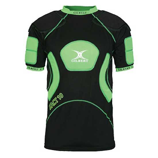 GILBERT xact 10 V2 shoulder pads [black/green]