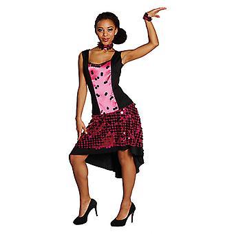 Glamour Girl Luxuskleid Tänzerin Girliedress Kostüm für Damen