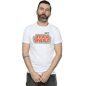 Star Wars Herren Retro-Outline T-Shirt
