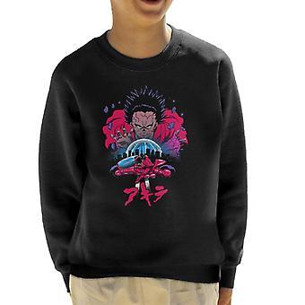 Akira Retro 80s Shotaro Kaneda Kid's Sweatshirt