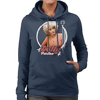 Junge Dolly Parton Retro Damen Sweatshirt mit Kapuze