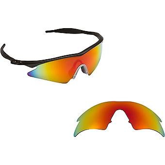 M Frame Sweep Replacement Lenses Polarized Red by SEEK fits OAKLEY Sunglasses