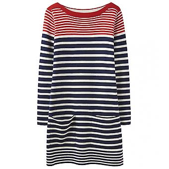 Joules Joules Freida Womens Knitted Slash Neck Tunic With Pockets S/S 19