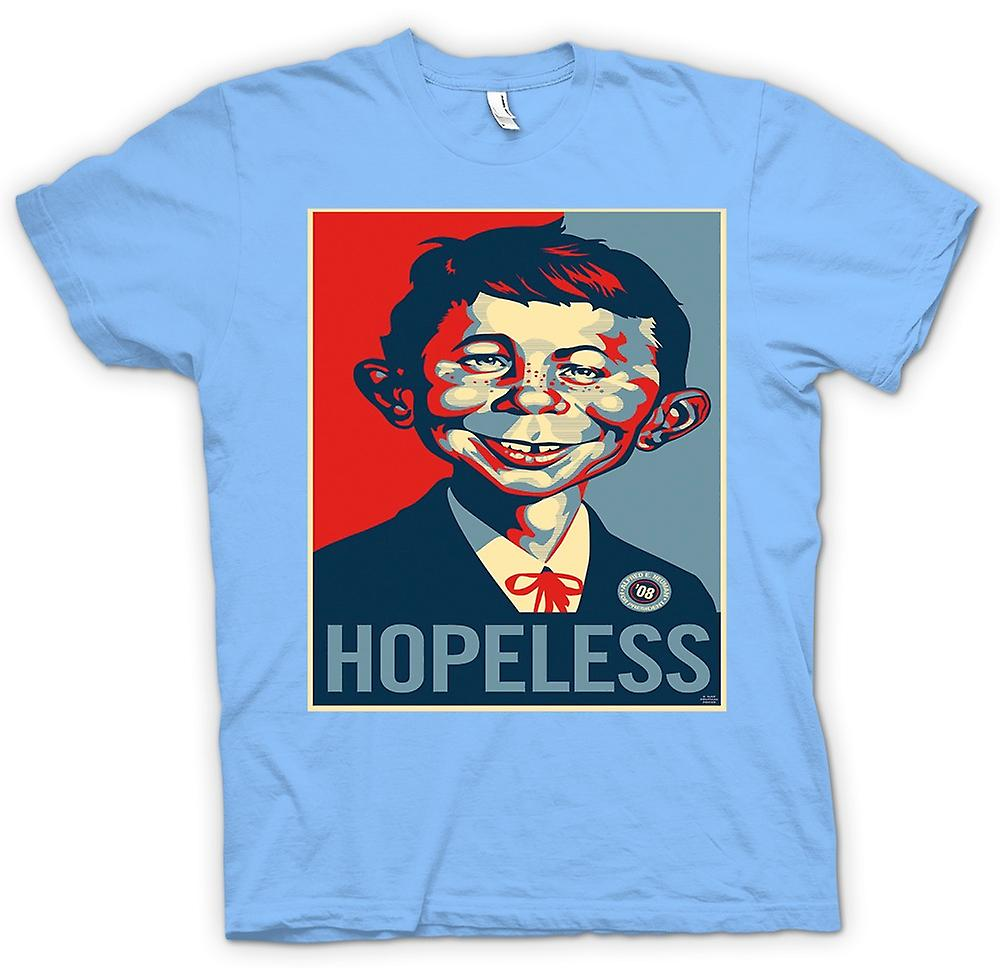 Camiseta para hombre-estilo Obama desesperado Mad - Pop Art-