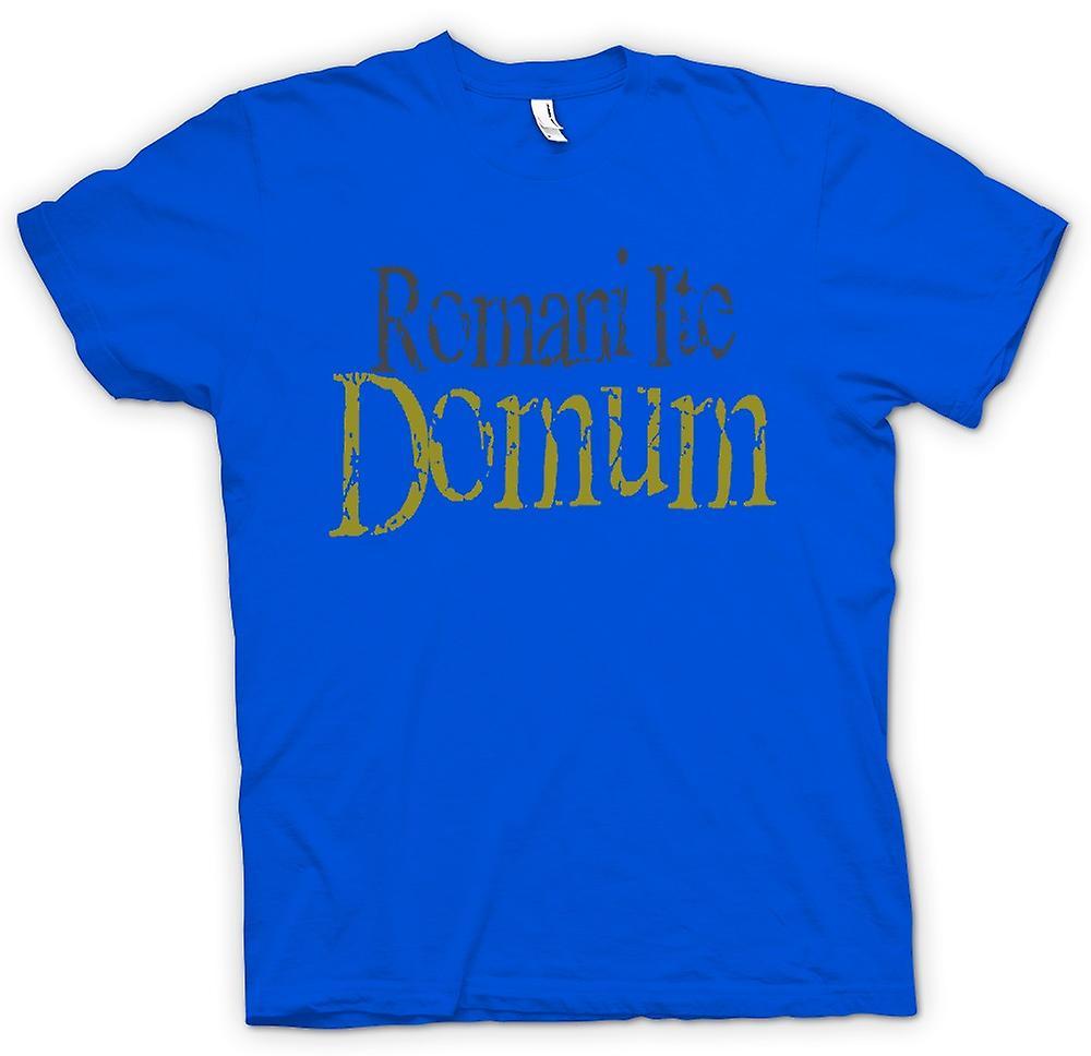 Hommes T-shirt - Romani Ite Domum - Drôle