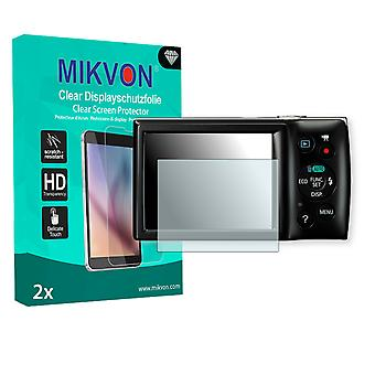 Canon Digital IXUS 160 Screen Protector - Mikvon Clear (Retail Package with accessories)