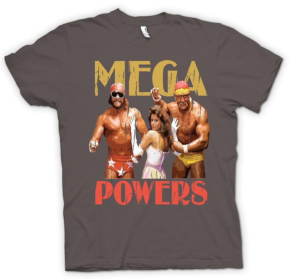 Womens T-shirt - Mega Powers - Hulk Wrestling