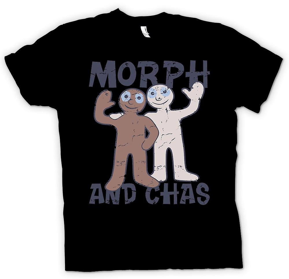 Womens T-shirt - Morph And Chas - Hartbeat Inspired