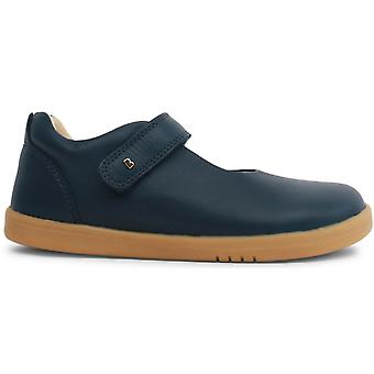 Bobux Kid+ Girls Delight Shoes Navy Blue