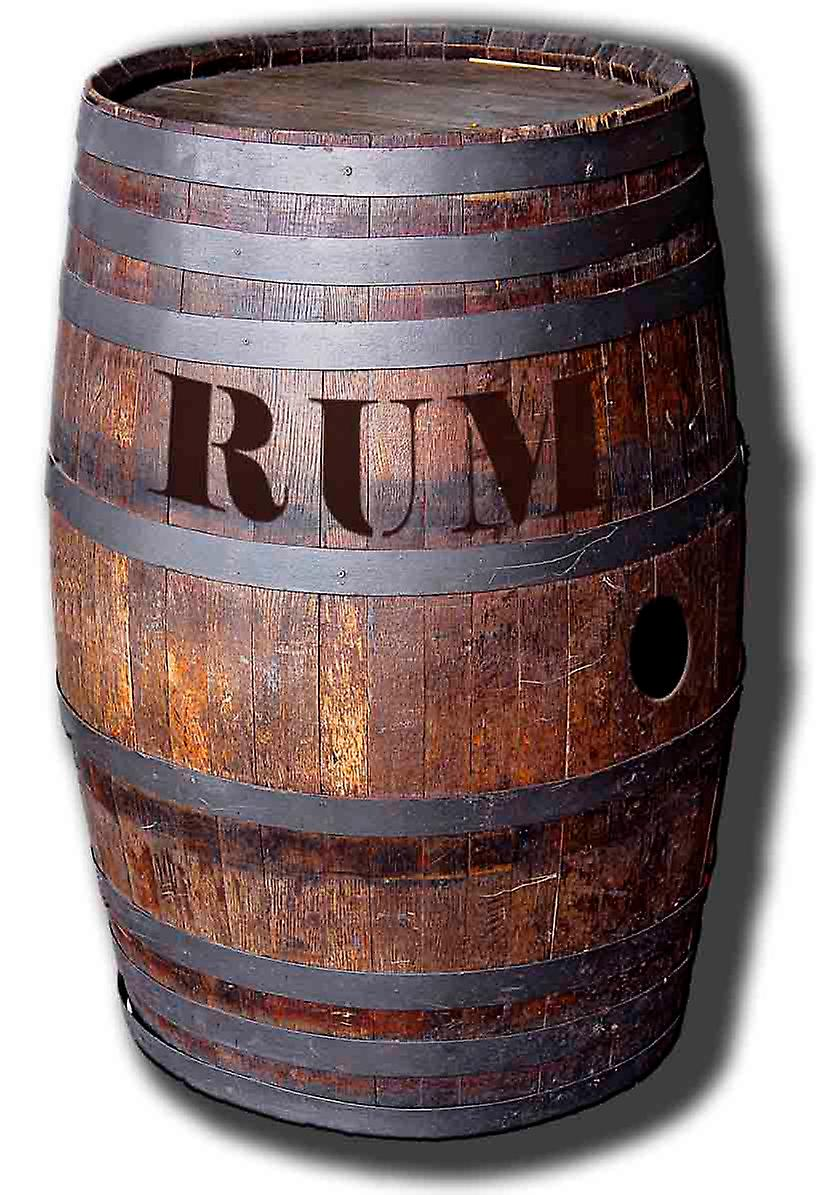 Barrel Of Rum - Lifesize Cardboard Cutout / Standee