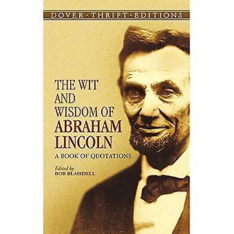 Vid og visdom af Abraham Lincoln: en bog af citater (Dover sparsommelighed udgaver)