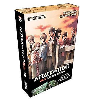 Attack på Titan 17 Special Edition W/DVD (Region 1 DVD)