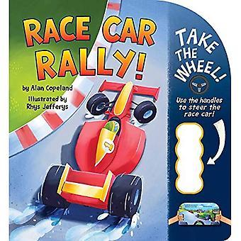 Race Car Rally! (Take the Wheel!) [Board book]