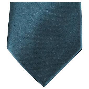 Knightsbridge Neckwear régulière cravate Polyester - vert foncé