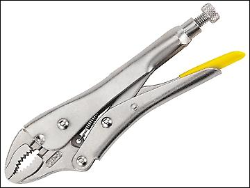Stanley Tools Locking Pliers 185mm Curved Jaw