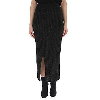 See By Chloé Black Cotton Skirt