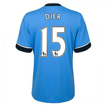 2015-16 Tottenham Away Shirt (Dier 15)