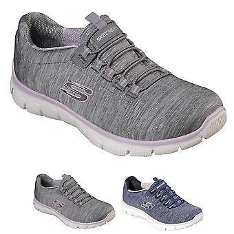 Womens Skechers Empire See Ya Yoga marche léger amorti formateurs