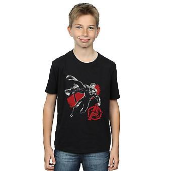 Marvel Boys Avengers Endspiel Mono Thor T-Shirt