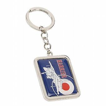 R.A.F. Official Licenced Product Silhouette Series Harrier Keyring