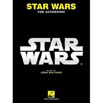 Star Wars for Accordion - 9781495059995 Book