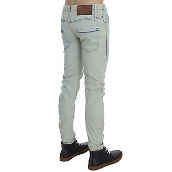 Denim cotton stretch slim fit jeans