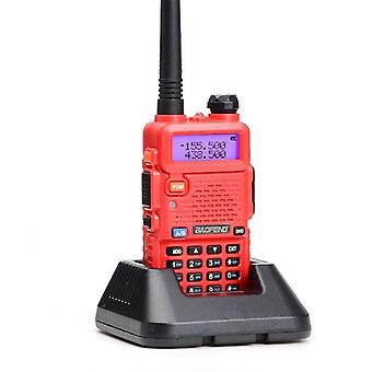 Professional Walkie talkie with flashlight, red
