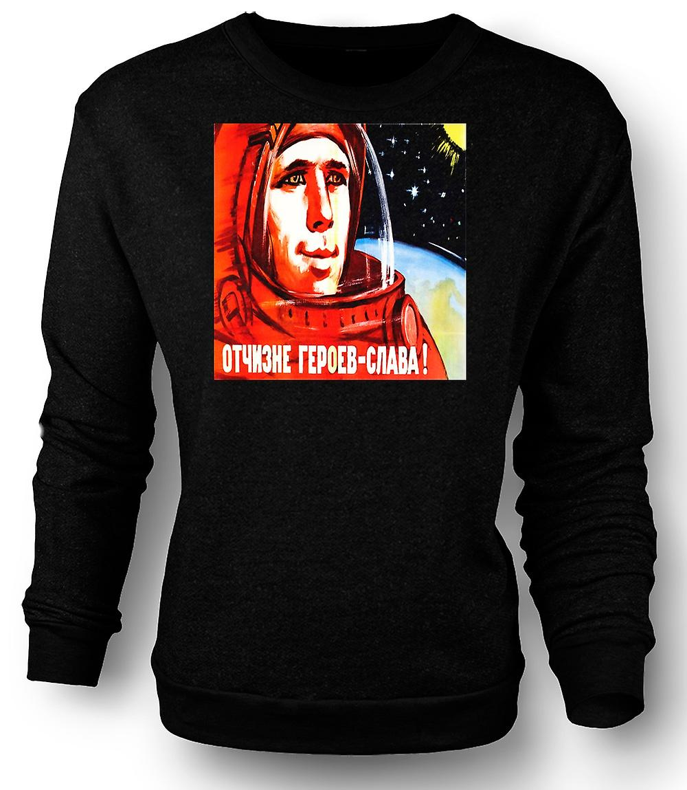 Mens Sweat-shirt Yuri Gagarin - cosmonaute russe